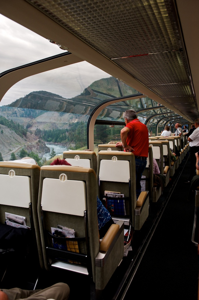 Rocky Mountains: The Rocky Mountaineer